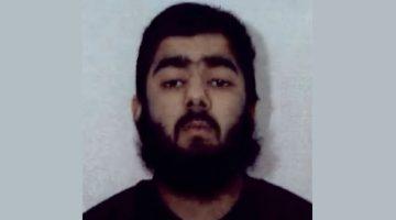 """Usman Khan, de 28 años, es el sospechoso de perpetrar el """"incidente terroristas"""" en el Puente de Londres. Foto: Cortesía"""