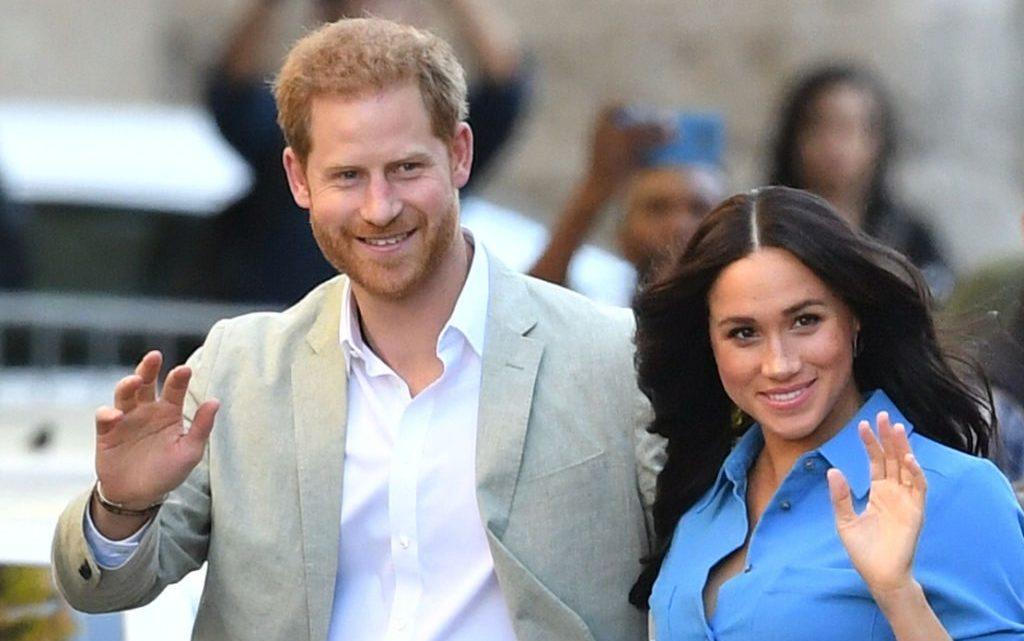 Príncipe Harry y su esposa, la duquesa Meghan Markle. (Foto: Agencias)