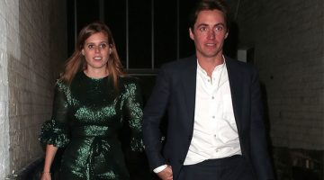 Princesa Beatriz de York y su novio Edoardo Mapelli Mozzi. (Foto: Agencias)