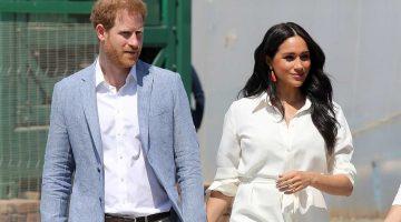 Meghan y Harry se apartan de la realeza británica. (Foto: Agencias)