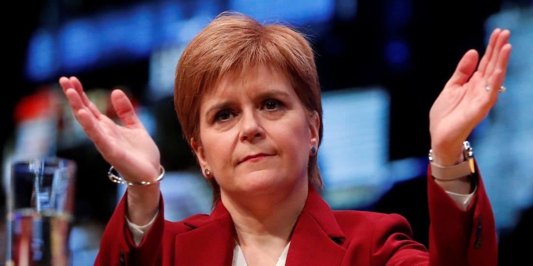Nicola Sturgeon. (Foto: Agencias)