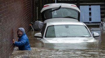 Tormenta Dennis ha creado caos en Reino Unido. (Foto: Agencias)